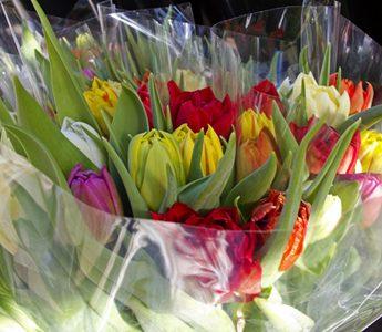 bolsas para flores detalle botella duran